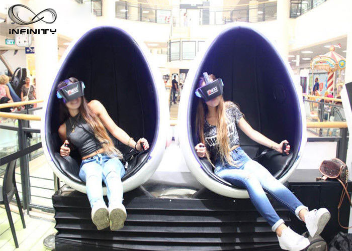 Infinity Interactive Virtual Reality Equipment / VR 2 Seats Cinema Game Simulator