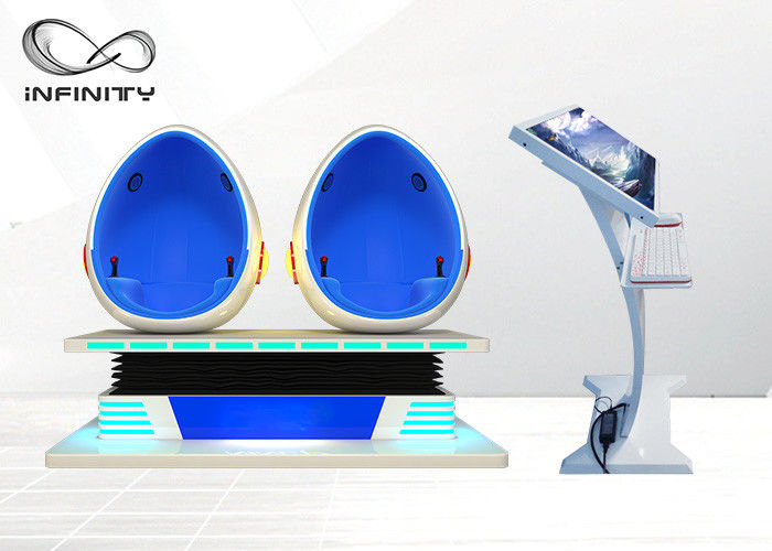 1500W 9D Egg Chair Cinema With Interactive Game 9d Virtual Reality Movie Machine For Shopping Mall