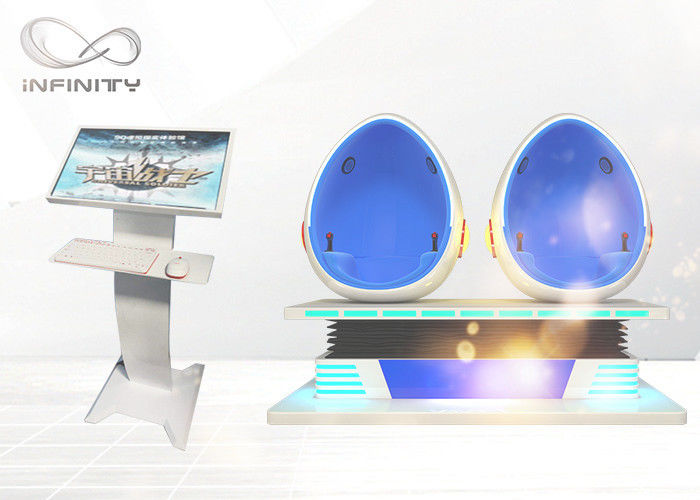 9D Virtual Reality VR Cinema Game With Interactive Movie VR Egg Chair Cinema