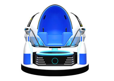3D Glasses 9D Egg VR Cinema Three Seats 720 Degree With Electric Motion Chair