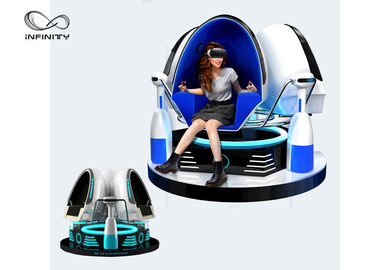 Fashion Investment 9D Egg VR Cinema 1 / 2 / 3 Seats Color Customized For Adult